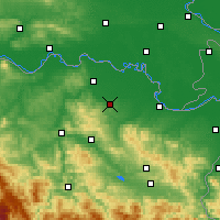 Nearby Forecast Locations - Gradačac - Map