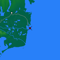 Nearby Forecast Locations - Sulina - Map