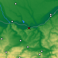 Nearby Forecast Locations - Svishtov - Map