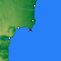 Nearby Forecast Locations - Kaliakpa - Map