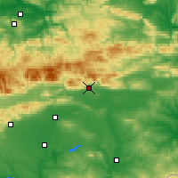 Nearby Forecast Locations - Sliven - Map