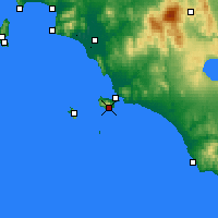 Nearby Forecast Locations - Monte Argentario - Map