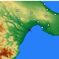 Nearby Forecast Locations - Marina Di Ginosa - Map