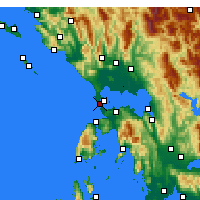 Nearby Forecast Locations - Preveza - Map
