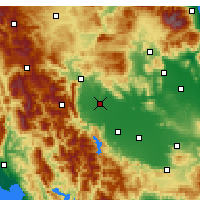 Nearby Forecast Locations - Trikala - Map