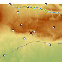 Nearby Forecast Locations - Mardin - Map