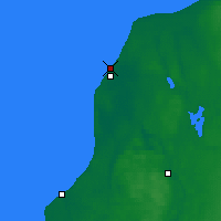 Nearby Forecast Locations - Ventspils - Map