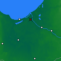 Nearby Forecast Locations - Riga - Map