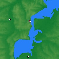 Nearby Forecast Locations - Tetyushi - Map