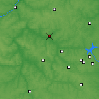 Nearby Forecast Locations - Tula - Map