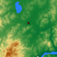 Nearby Forecast Locations - Gorin - Map