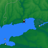 Nearby Forecast Locations - Taganrog - Map