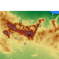 Nearby Forecast Locations - Saiq - Map