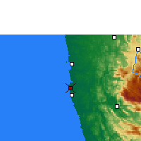 Nearby Forecast Locations - Colombo - Map