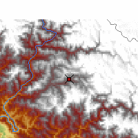 Nearby Forecast Locations - Jumla - Map