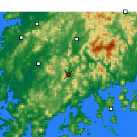 Nearby Forecast Locations - Suncheon - Map