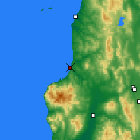 Nearby Forecast Locations - Rumoi - Map