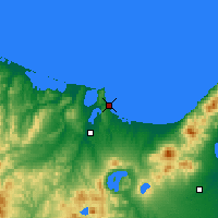 Nearby Forecast Locations - Abashiri - Map