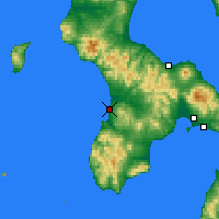 Nearby Forecast Locations - Esashi - Map