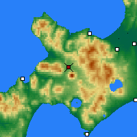 Nearby Forecast Locations - Kutchan - Map
