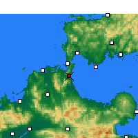 Nearby Forecast Locations - Kitakyushu - Map