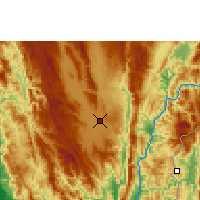 Nearby Forecast Locations - Loikaw - Map