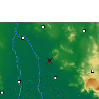 Nearby Forecast Locations - Lopburi - Map