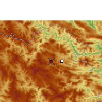 Nearby Forecast Locations - Sam-neua - Map