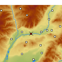 Nearby Forecast Locations - Jishan - Map
