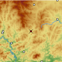 Nearby Forecast Locations - Pingquan - Map