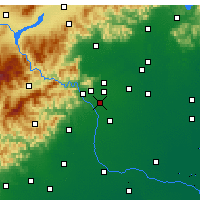 Nearby Forecast Locations - Fengtai/Beij. - Map