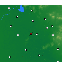 Nearby Forecast Locations - Jiaxiang - Map