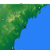 Nearby Forecast Locations - Rizhao - Map