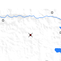 Nearby Forecast Locations - Gyantse - Map