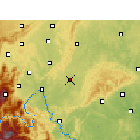 Nearby Forecast Locations - Jingyan - Map