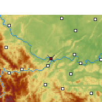 Nearby Forecast Locations - Yibin - Map