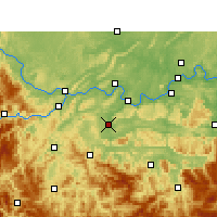 Nearby Forecast Locations - Changning - Map