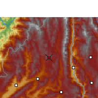 Nearby Forecast Locations - Tengchong - Map
