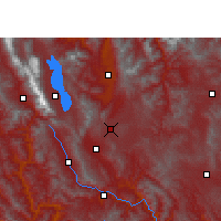 Nearby Forecast Locations - Xiangyun - Map
