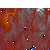 Nearby Forecast Locations - Wuding - Map