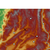Nearby Forecast Locations - Lianghe - Map