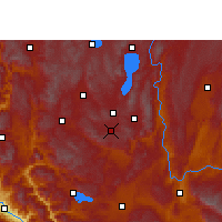 Nearby Forecast Locations - Tonghai - Map