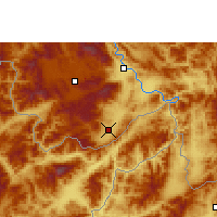 Nearby Forecast Locations - Damenglong - Map