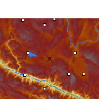 Nearby Forecast Locations - Jianshui - Map