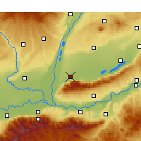 Nearby Forecast Locations - Yongji - Map