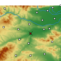 Nearby Forecast Locations - Luoyang - Map