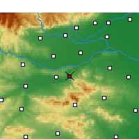 Nearby Forecast Locations - Gongyi - Map