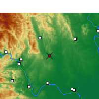 Nearby Forecast Locations - Dangyang - Map