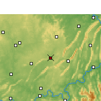 Nearby Forecast Locations - Rongchang - Map