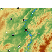 Nearby Forecast Locations - Chenxi - Map